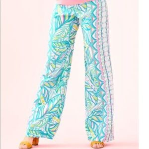 NWT Lilly Pulitzer bal-harbour-palazzo-pant